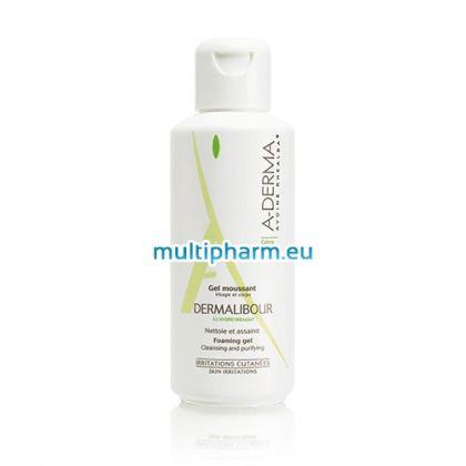 A-derma Dermalibour / Почистващ гел за раздразнена кожа 250мл