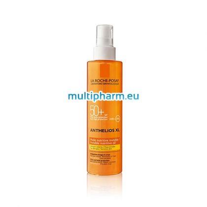 La Roche-Posay Anthelios XL / Слънцезащитно подхранващо олио за тяло и лице SPF50+ 200ml