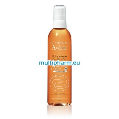 Avene / Слънцезащитно олио с нелепнеща текстура SPF30 200ml