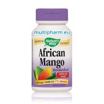 Nature's Way / Африканско манго за здравословно отслабване 60 капс