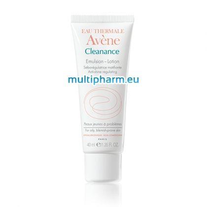 Avene Cleanance / Себорегулираща матираща емулсия за мазна и акнеична кожа 40ml