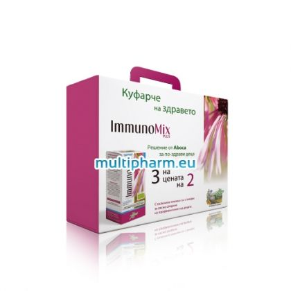 Promo Immunomix Plus / Промо пакет - Имуномикс Плюс сироп за деца 210ml 3бр на цената на 2бр