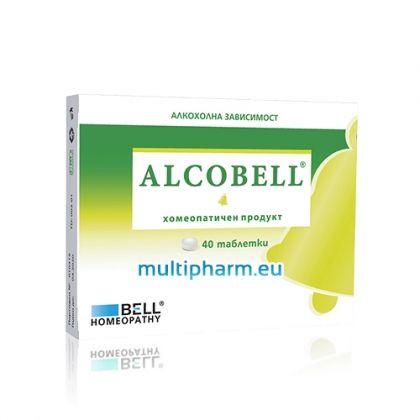 Alcobell / Алкобел при алкохолна зависимост 40табл