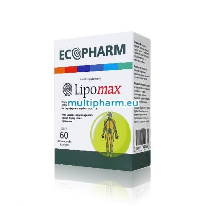 Alpha Lipomax / Алфа Липомакс за подкрепа на функцията на нервната система 60капс