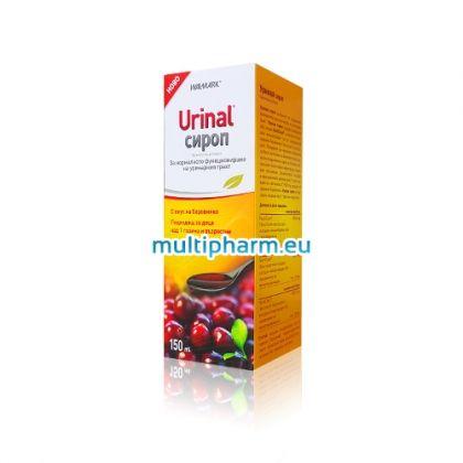 Urinal / Уринал Сироп за нормално функциониране на уринарния тракт 150мл