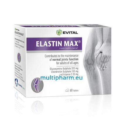 Evital Elastin Max / Еластин Макс формула за укрепване и заздравяване на ставите 60табл