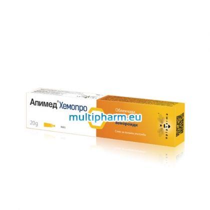 Апимед Хемопро при хемороиди 20g