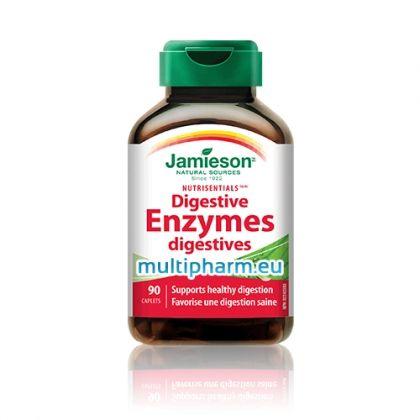 Jamieson Digestive Enzymes / Джеймисън Храносмилателни ензими 90капс