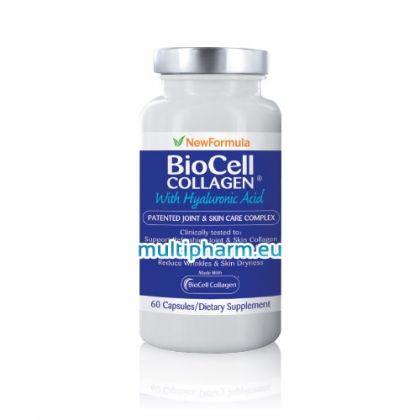 BioCell Collagen / Биосел колаген с хиалуронова киселина за здрави стави и сияйна кожа 60капс