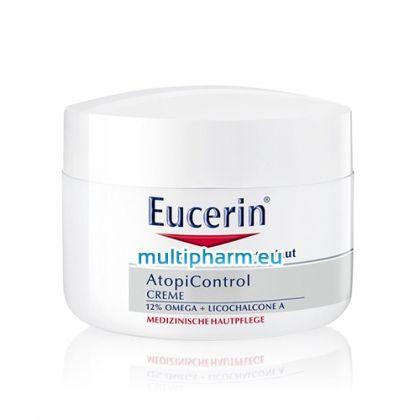 Eucerin AtopiControl / Интензивен успокояващ крем за суха и дразнеща кожа 40ml