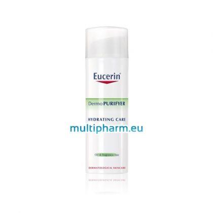 Eucerin DermoPURIFYER / Хидратиращ крем за склонна към акне кожа 50ml