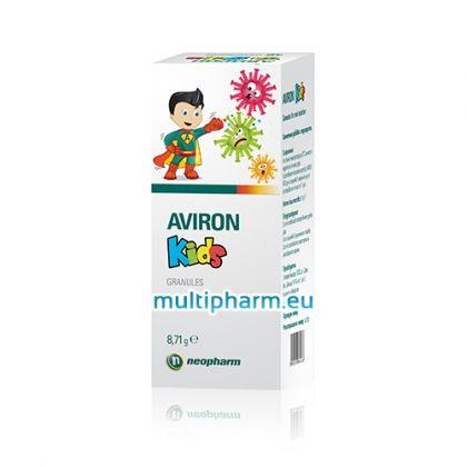 Aviron Kids / Авирон Кидс при грип и остри вирусни инфекции при деца 8.71g гранули за разтвор
