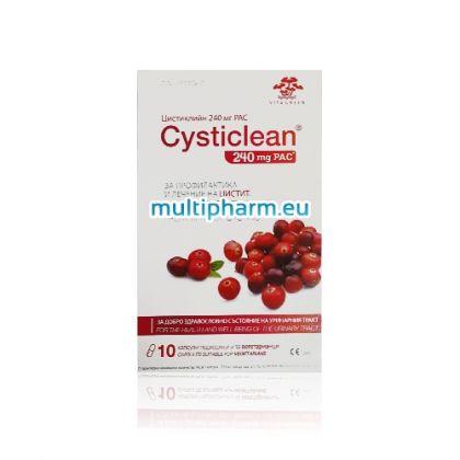 Cysticlean / Цистиклийн За профилактика и лечение на цистит 10капс