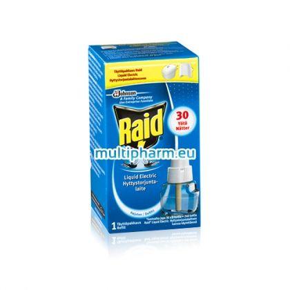 Raid Liquid / Райд Ламиниран пълнител за електрически изпарител срещу комари
