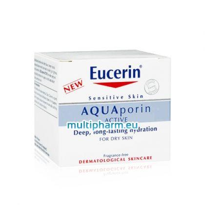 Eucerin Aquaporin Active / Юсерин Аквапорин Актив Богат Крем за много суха и дехидратирана кожа 50мл.