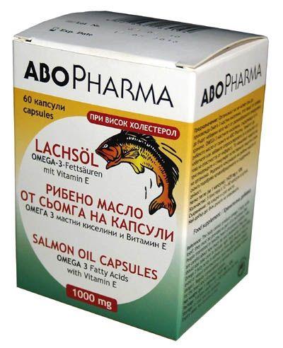 Abopharma / Абофарма Рибено масло от сьомга 1000мг. 60капс.