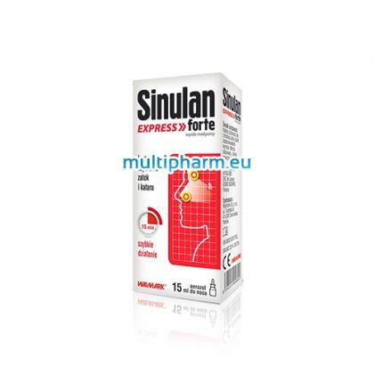 Sinulan Express Forte / Синулан Експрес Форте спрей за отпушване на носа 15ml