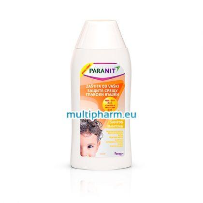 Paranit / Паранит Защитен измиващ шампоан 2в1 против главови въшки 200ml