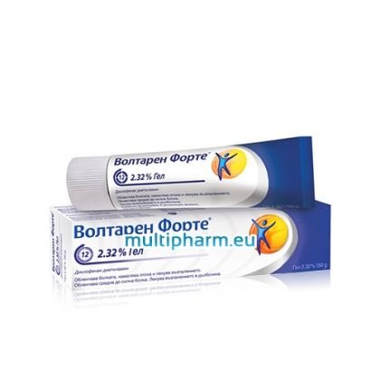 Voltaren Forte / Волтарен Форте 2,32% Гел за мазане при болка, оток и възпаление 100g +50g Подарък
