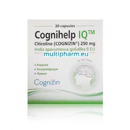 Cognihelp IQ / Когнихелп АйКю в подкрепа на паметта и концентрацията 20капс