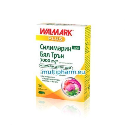 Walmark / Силимарин Макс Бял Трън 7000mg подкрепа за черния дроб 30табл