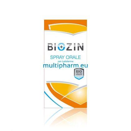 Biozin / Биозин Орален спрей за подкрепа на устната кухина и гърлото 30ml