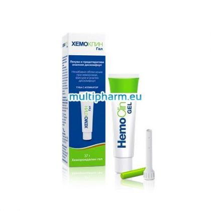 Hemoclin / Хемоклин гел при хемороиди 37ml