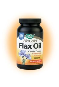 Flax Oil / Ленено масло 1000мг. 100капс.