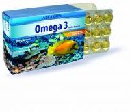 Alkakaps Omega 3 / Алкакапс Омега 3 рибено масло с витамин Е  60капс.