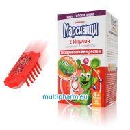 Марсианци витамини и минерали с инулин 80табл. + Подарък ходеща марсианска буболечка