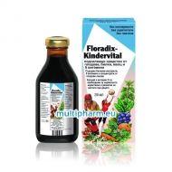 Floradix / Киндервитал мултивитаминен еликсир за деца 250ml