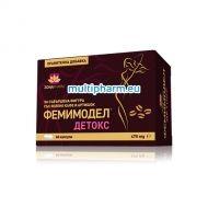 Femimodel Detox / Фемимодел Детокс за редукция на наднормено тегло 60капс