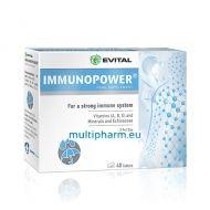 Evital Immunopower / Имунопауър Натурална формула за здрава имунна система 40табл