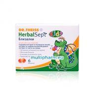 Dr. Theiss HerbalSept / ХербалСепт Близалки за облекчаване на болно гърло 6бр