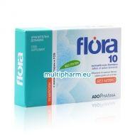 Flora 10 / Флора 10 синбиотик за здрава храносмилателна система 15капс