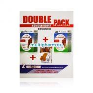 Промо пакет: Abo Pharma Magnesium / Магнезий 250mg с Витамин В комплекс за укрепване на мускулите и нервите 30табл 2бр +Подарък пластири за рани