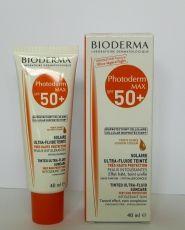 Bioderma Photoderm Max Fluid / Биодерма Фотодерм Макс Флуид 50+ златист цвят 40мл.