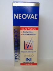 Neoval / Неовал Шампоан против пърхот и себорея за нормална и суха коса 200мл.